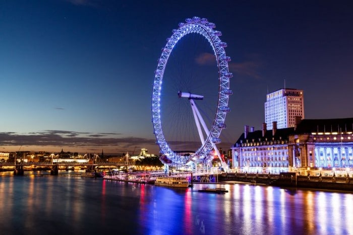 London Eye, en Londres