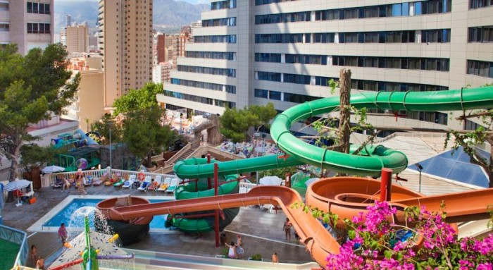 Hotel para niños Magic Aqua Rock Gardens, en Benidorm