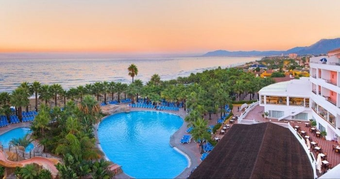 playas resort espana