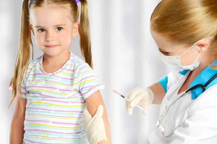 Niños sin vacunar