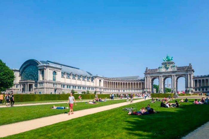 Parque del Cincuentenario, en Bruselas