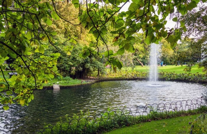 Parque Reina Astrid, en Brujas
