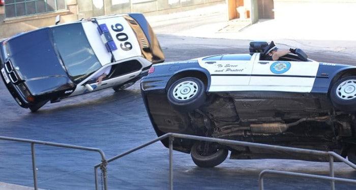 Parque Warner Loca Academia de Policía