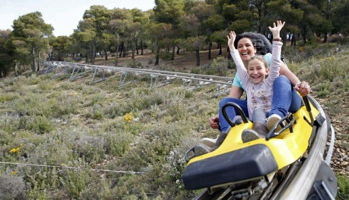 Parque temático Sendaviva, en Navarra