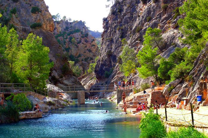 Piscina natural Balneario de la Fontcalda Tarragona