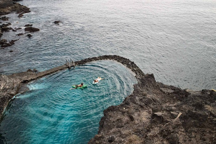 7 piscinas naturales para ba arse con los ni os etapa for Piscina natural tenerife