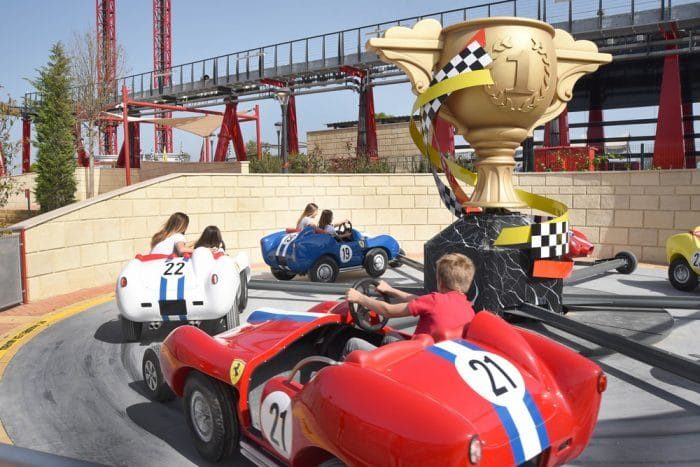 PortAventuraFerrari Land, atracción Champions Race