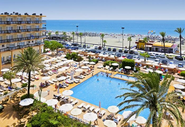 Hotel Riu Belplaya, en Torremolinos, Málaga, Andalucía