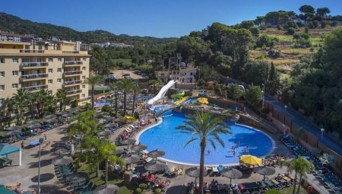 Hotel Rosamar Garden Resort, en Lloret de Mar, Costa Brava, Girona, Cataluña