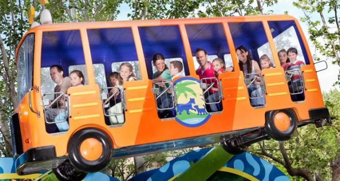 Al Bosque con Diego, NickelodeonLand