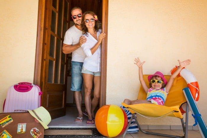 Alquiler vacacional en familia