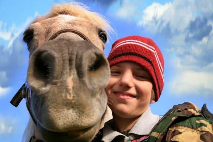 Beneficios de la equitación para los niños