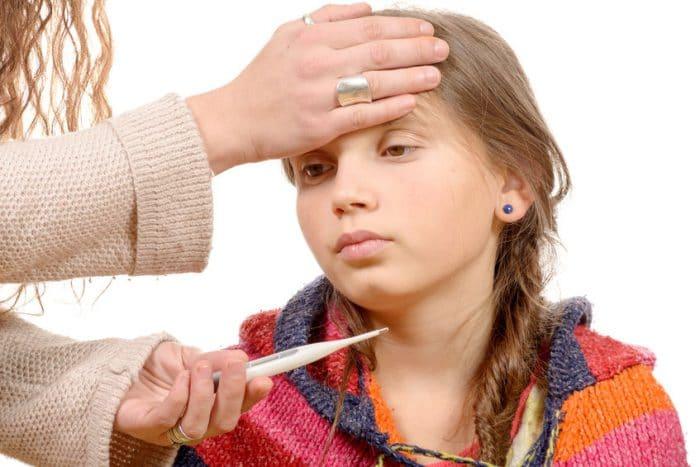 Panitos humedos para la fiebre
