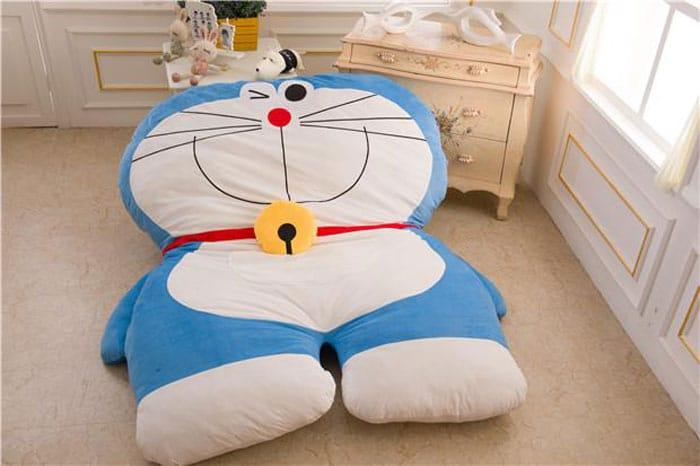 Cama infantil de Doraemon