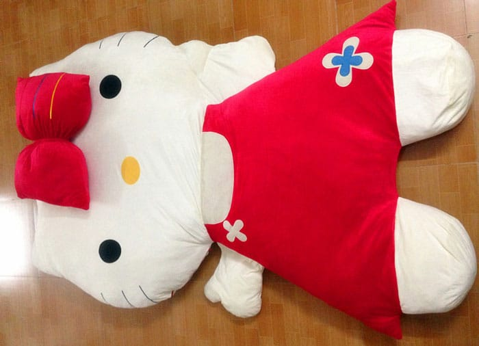Cama infantil de Hello Kitty