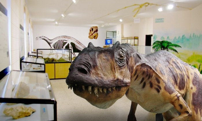 Dinosaurios Dinópolis Museo Arqueológico y Paleontológico de Burgos