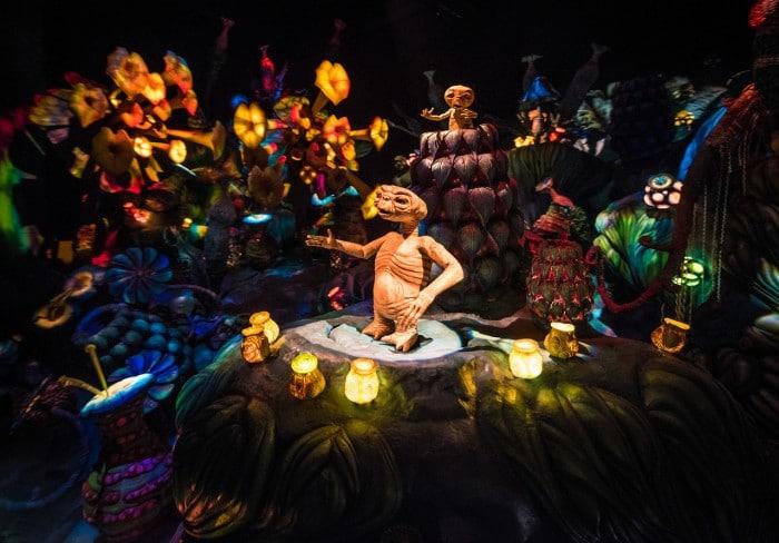 E.T. en parque de atracciones Disney's Hollywood Studios, en Orlando, Florida