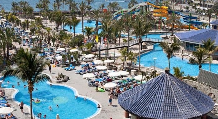 Hotel familiar Paradise Lago Taurito, en Canarias