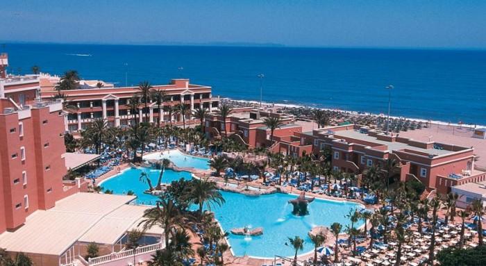 Hotel Playacapricho, en Roquetas de Mar, Almería