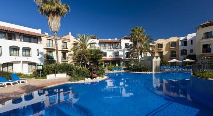 Hotel temático PortAventura, en Salou, Tarragona, Cataluña