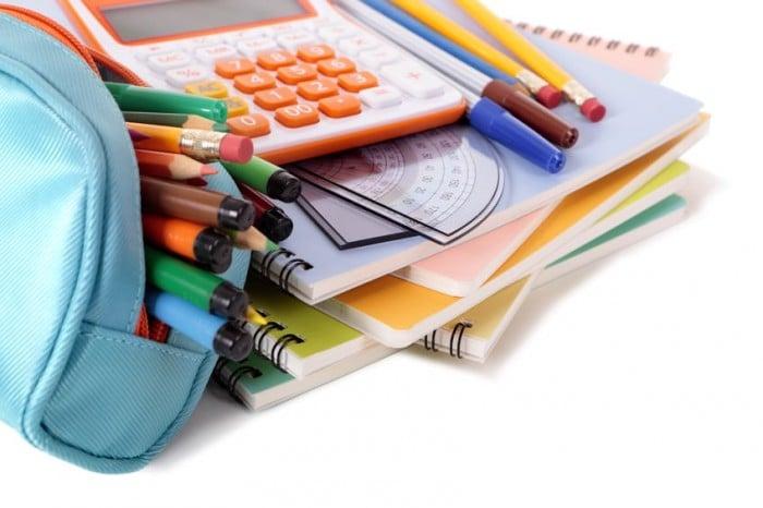 Material escolar según la edad