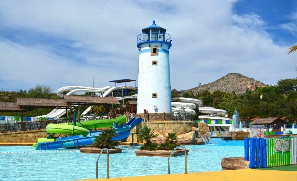 Parque acuáticoAqua Natura Benidorm, en Alicante