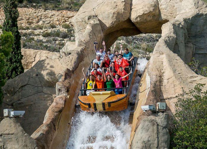 Parque de atracciones Terra Mítica, en Benidorm, Alicante