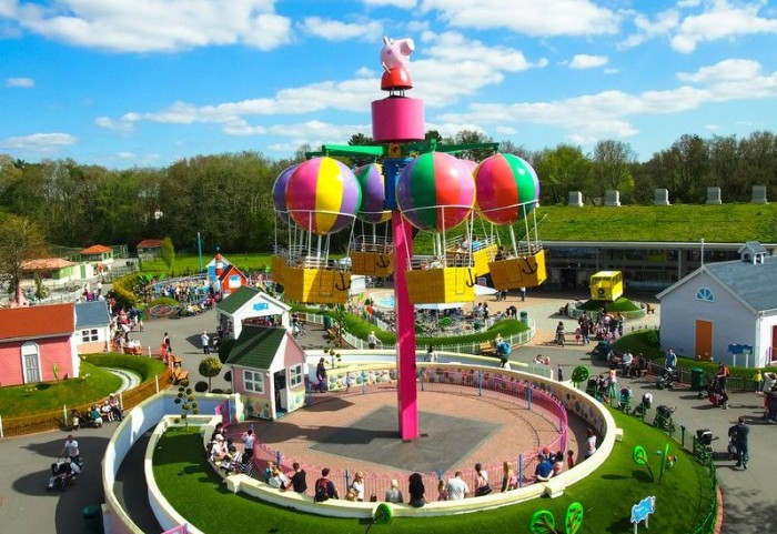 Descubre el parque temtico de Peppa Pig  Etapa Infantil