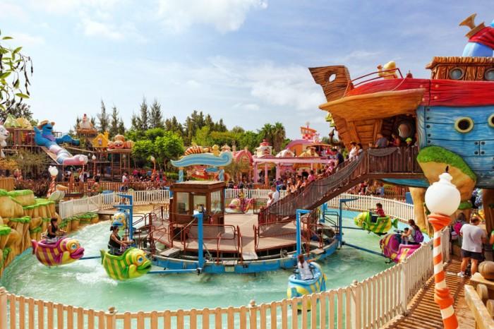 Sésamo Aventura en parque de atracciones PortAventura