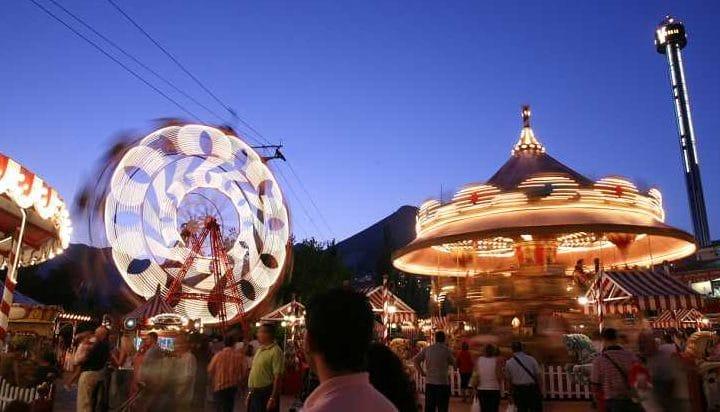 Parque de atracciones Tivoli World, en Benalmádena, Málaga