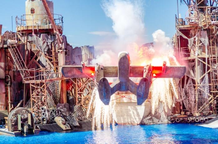 Parque de atracciones Universal Studios Hollywood, en Los Ángeles, California