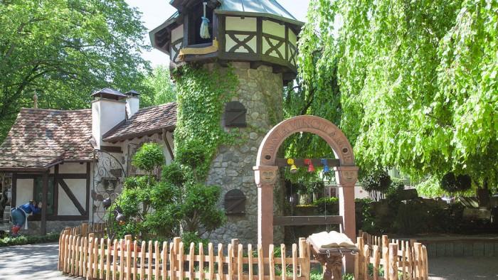 Rapunzel, Parque de atracciones Europa Park