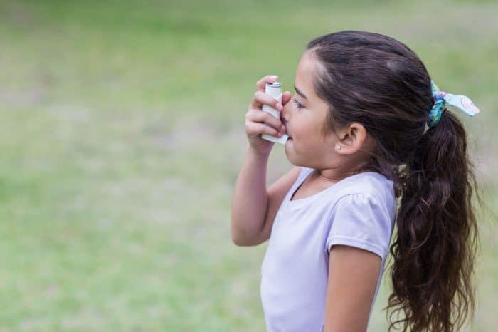 sintomas asma niños