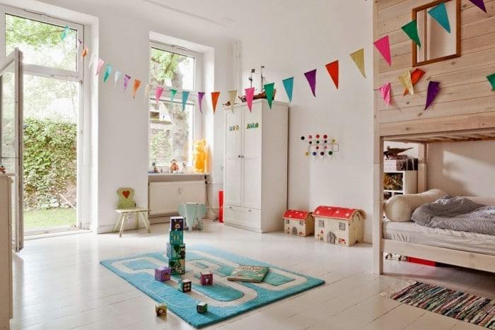 Banderillas para decorar la habitación infantil