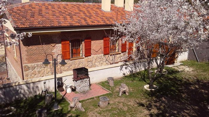 Alojamiento rural Casas de la Estación, en Robledo de Chavela, Madrid