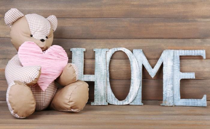 decorar con letras la habitacin infantil
