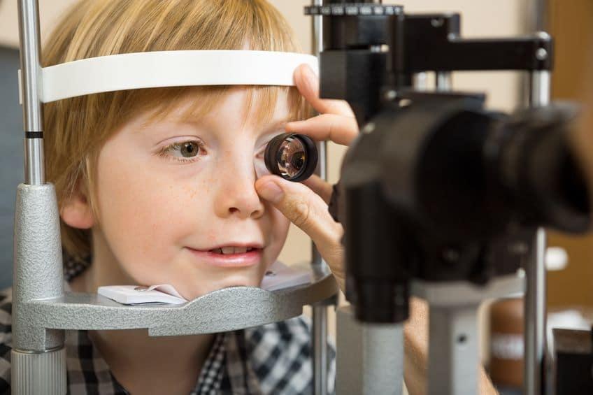 Edades a las que revisar la vista a los niños