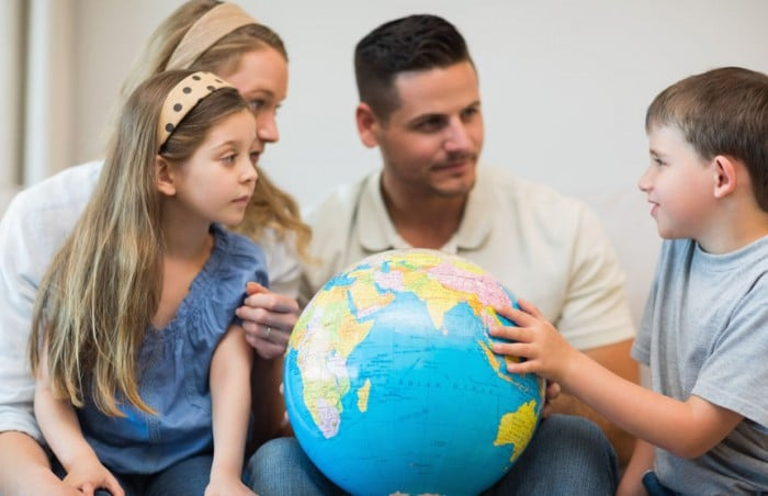 Emigrar con niños
