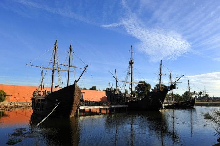 Escapada barata con niños Museo Muelle de las Carabelas, en Huelva