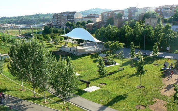 Escapada barata con niños Parc Vallparadís de Terrassa, en Cataluña