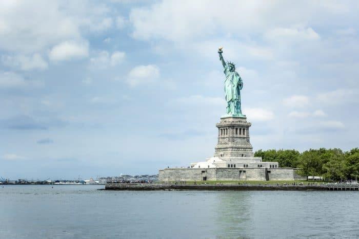 Estatua de la Libertad, en Nueva York