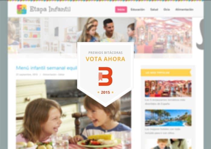 Etapa Infantil - Premios Bitacoras 2015
