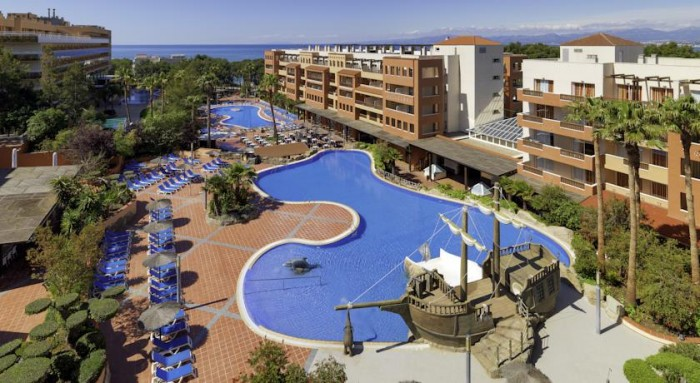 Hotel H10 Mediterranean Village, en Salou, Costa Dorada, Tarragona, Cataluña