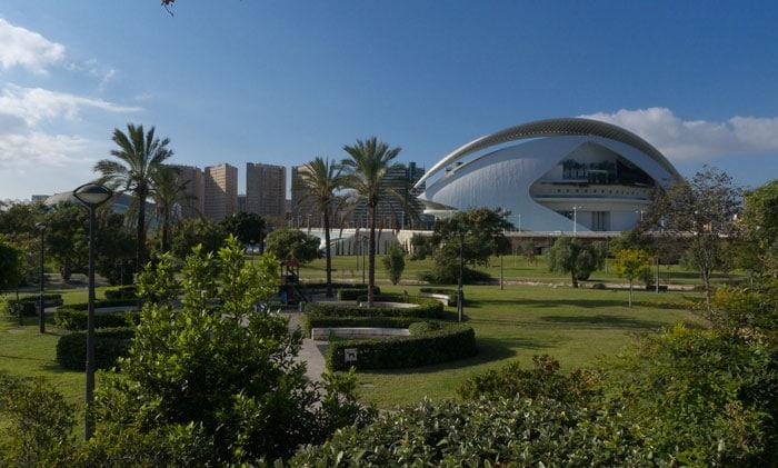 Jardín del Turia, en Valencia