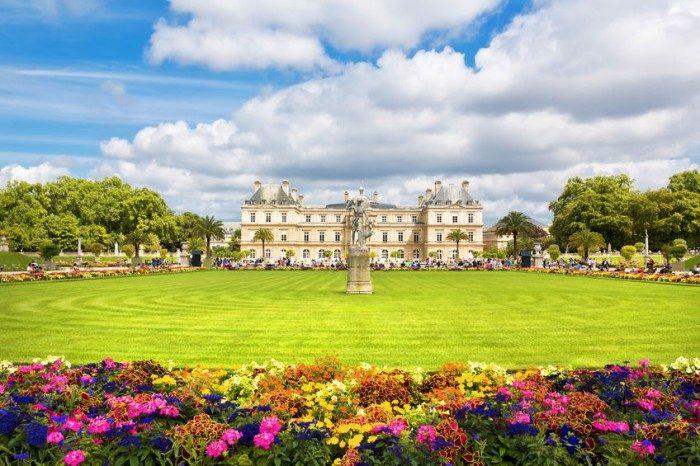 Jardines de Luxemburgo en Paris - Viajar a Paris con niños