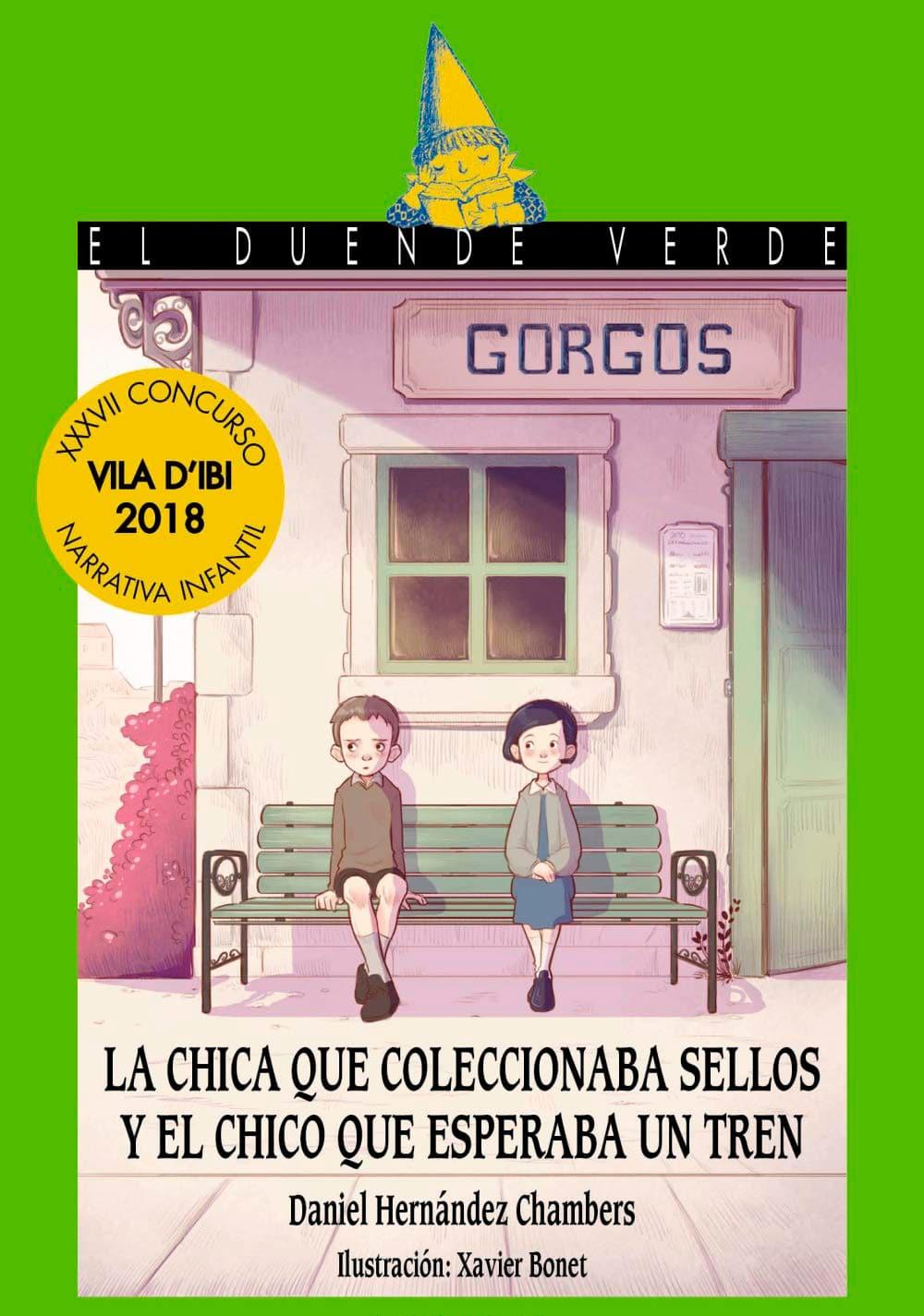 Libro infantil 2020 La chica que coleccionaba sellos y el chico que esperaba un tren, de Daniel Hernández Chambers