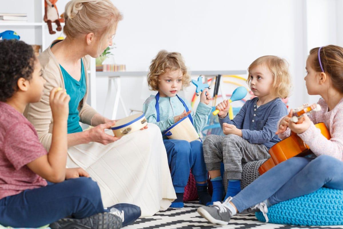 Musicoterapia en bebés y niños