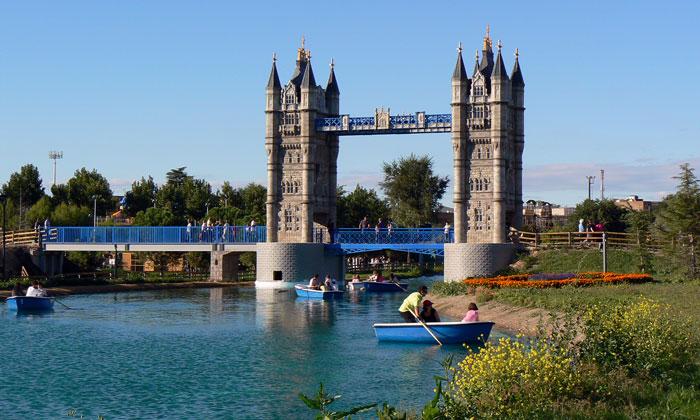 Escapada barata fin de semana con niños Parque Europa, en Torrejón de Ardoz