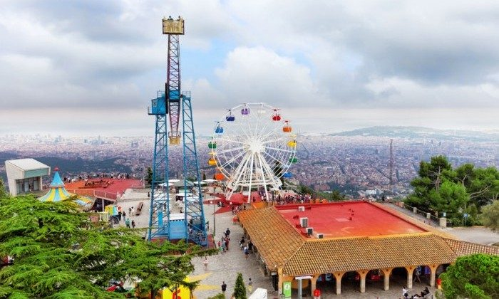 Los 10 mejores parques de atracciones de espa a etapa for Parques de barcelona