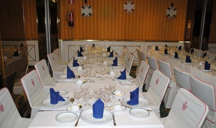 Restaurante temático Central Pacific, en Madrid